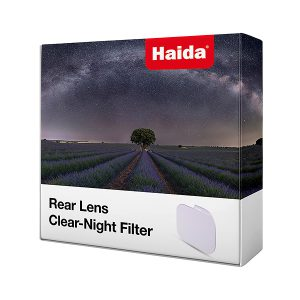 Rear Lens - Clear Night filters